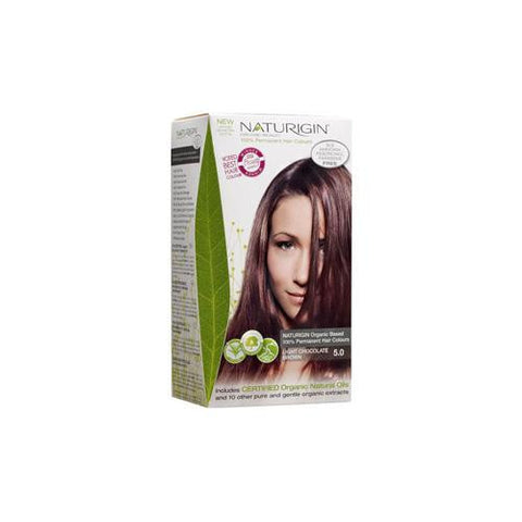Naturigin Hair Colour - Permanent - Light Chocolate Brown - 1 Count