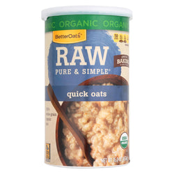 Better Oats Organic Cereal - Quick Oats - Case Of 12 - 16 Oz.