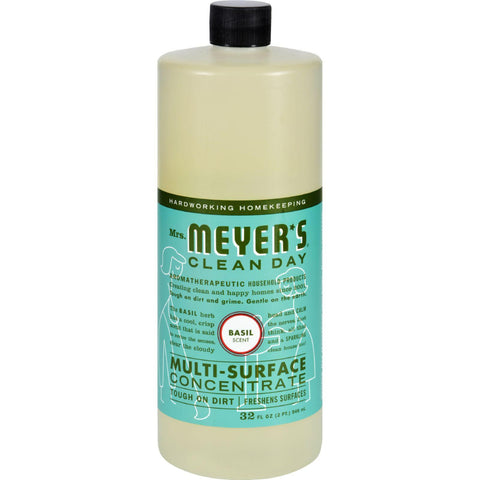 Mrs. Meyer's Multi Surface Concentrate - Basil - 32 Fl Oz