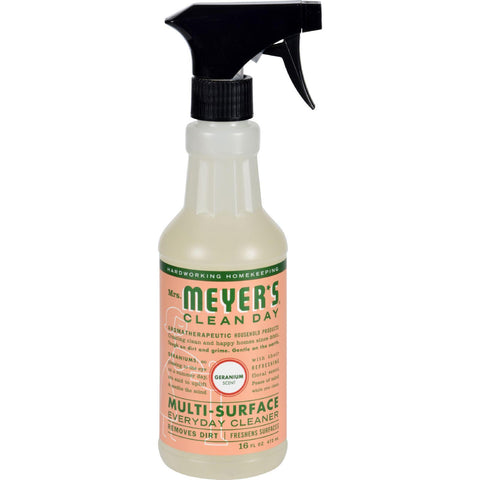 Mrs. Meyer's Multi Surface Spray Cleaner - Geranium - 16 Fl Oz