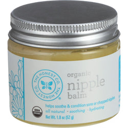 The Honest Company Organic Nipple Balm - Unscented - Unflavored - 1.8 Oz