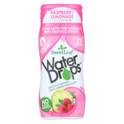 Sweet Leaf Stevia Water Enhancer Water Drops - Raspberry And Lemonade - Case Of 6 - 2.1 Fl Oz.