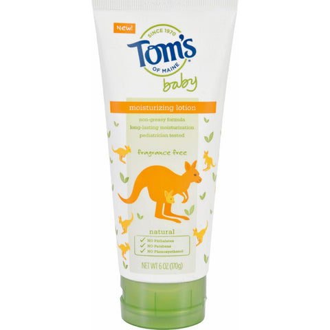 Tom's Of Maine Baby Moisturizing Lotion Fragrance Free - 1 Each - 6 Oz.