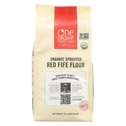 One Degree Organic Foods Sprouted Red Fife Flour - Organic - Case Of 6 - 32 Oz.