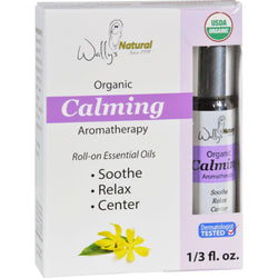 Wallys Natural Products Aromatherapy Blend - Organic - Roll-on - Essential Oils - Calming - .33 Oz