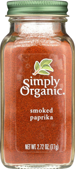 Simply Organic Smoked Paprika - Case Of 6 - 2.72 Oz.