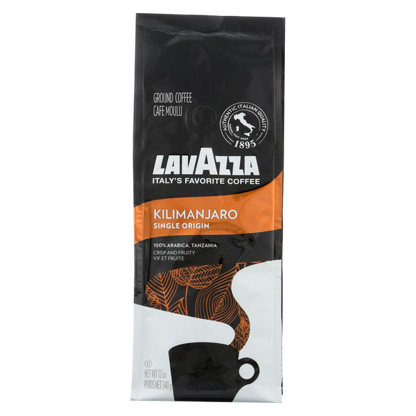 Lavazza Premium Drip Coffee - Kilimanjaro - Case Of 6 - 12 Oz.
