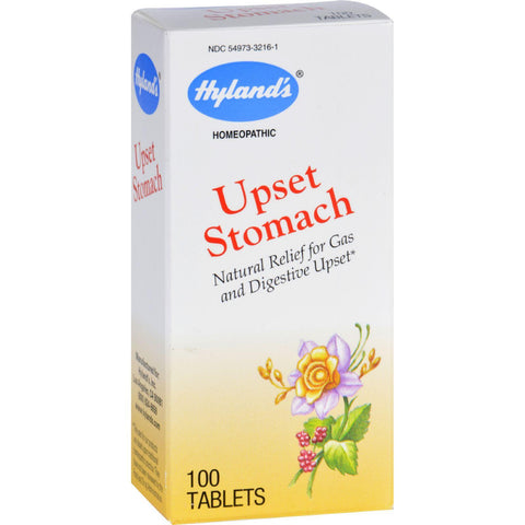 Hylands Homeopathic Upset Stomach - 100 Tablets