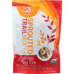 Living Intentions Trail Mix - Organic - Sprouted - Mango Goji Fire - 7 Oz - Case Of 6
