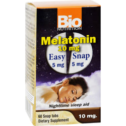 Bio Nutrition Inc Melatonin - 10 Mg - 60 Tablets