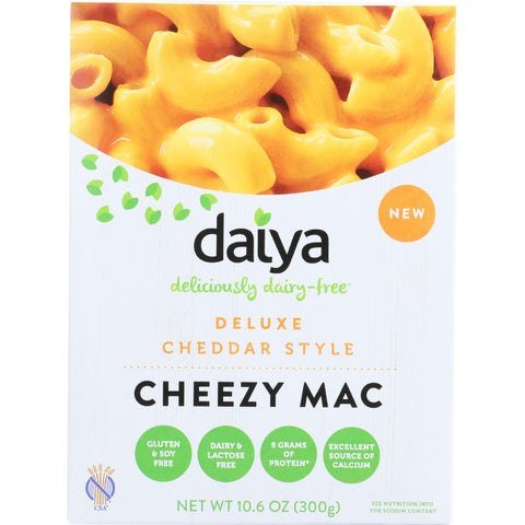 Daiya Foods Inc Cheezy Mac - Deluxe - Cheddar Style - Dairy Free - 10.6 Oz - Case Of 8