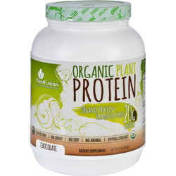 Plantfusion Plant Protein - Organic - Chocolate - 2 Lb
