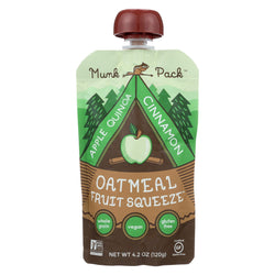 Munk Pack Apple Quinoa Cinnamon - Apple - Case Of 6 - 4.2 Oz.
