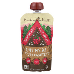 Munk Pack Raspberry Coconut - Raspberry - Case Of 6 - 4.2 Oz.