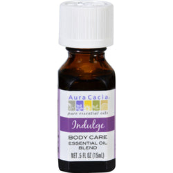 Aura Cacia Essential Oil Blend - Body - Indulge - .5 Oz