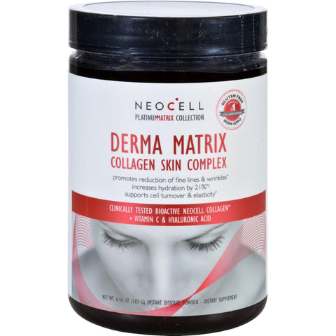 Neocell Laboratories Collagen Skin Complex - Derma Matrix - Platinum Matrix - Instantly Dissolving - 90 Capsules