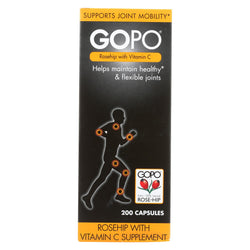 Gopo Joint Health - Rose-hip - W C - 200 Capsules