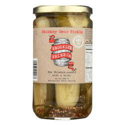 Brooklyn Brine Pickle - Whiskey Sour - Case Of 12 - 24 Oz.