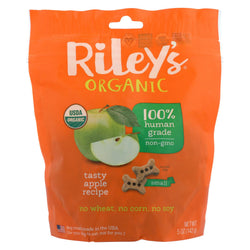 Riley's Organics Riley's Organics Treat - Apple - Case Of 5 - 5 Oz.