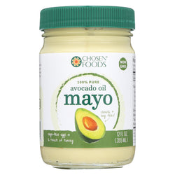 Chosen Foods Avocado Oil - Mayo - Case Of 6 - 12 Oz.