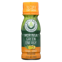 Kuli Moringa Green Energy Shots - Case Of 12 - 2.5 Oz.