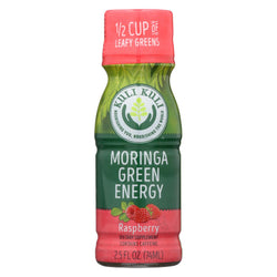 Kuli Moringa Green Energy Shots - Case Of 12 - 2.5 Fl Oz.