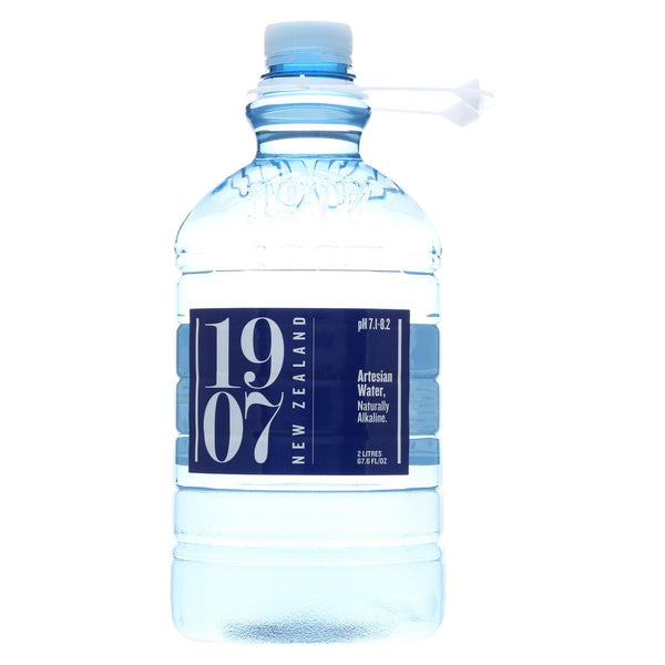 1907 New Zealand Artesian Water - Case Of 8 - 67.6 Fl Oz.