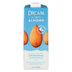 Dream Original Ultimate Almond Beverage - Case Of 6 - 32 Fl Oz.