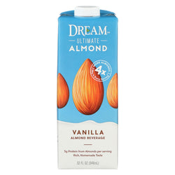 Dream Ultimate Vanilla Almond Beverage - Case Of 6 - 32 Fl Oz.