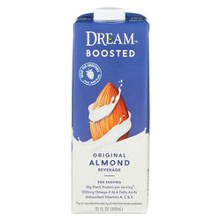 Dream Boosted Original Almond Beverage - Case Of 6 - 32 Fl Oz.