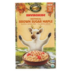 Envirokidz Organic Oatmeal - Brown Sugar Maple - Case Of 6 - 9 Oz.