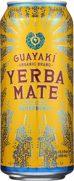 Guayaki Yerba Mate - Bluephoria - Case Of 12 - 15.5 Fl Oz.