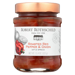 Robert Rothschild Farm Roasted Dip - Red Pepper And Onion - Case Of 6 - 11.4 Oz.