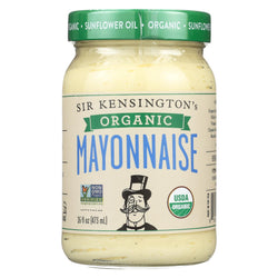 Sir Kensington's Organic Classic Mayonnaise - Case Of 6 - 16 Fl Oz.