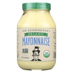 Sir Kensington's Organic Classic Mayonnaise - Case Of 6 - 32 Fl Oz.