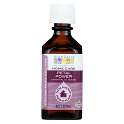 Aura Cacia Essential Oil Blend - Petal Power - Case Of 1 - 2 Fl Oz.