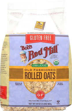 Bob's Red Mill Rolled Oats - Gluten Free - Case Of 4 - 32 Oz.