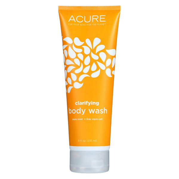 Acure Body Wash - Clarifying - 8 Fl Oz.