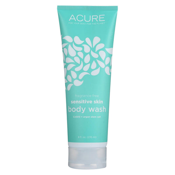 Acure Body Wash - Sensitive Skin - 8 Fl Oz.