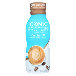 Iconic Protein Shake - Caf Au Lait - Case Of 12 - 11.5 Fl Oz.