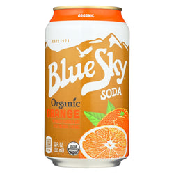 Blue Sky Orange Divine - Cane Sugar - Case Of 4 - 12 Oz.