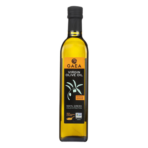 Gaea Olive Oil - Virgin - Case Of 6 - 17 Oz.