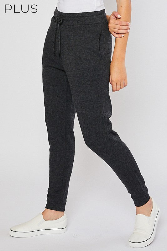 Plus Fleece Jogger Pant