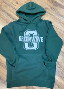 Block Green Wave Sweatshirt