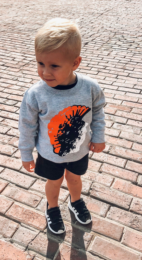 Ombre Trojan Head Youth Apparel
