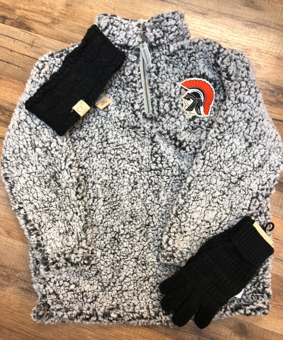 YOUTH Trojan Sherpa Pullover