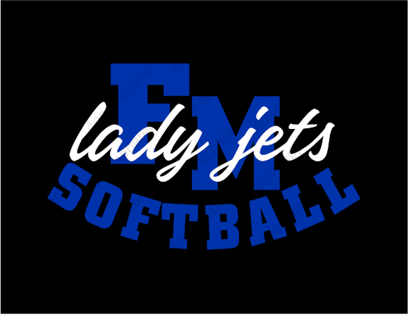 FM Lady Jets Left Chest Apparel