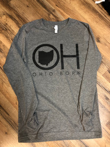 Ohio Born Long Sleeve Tee