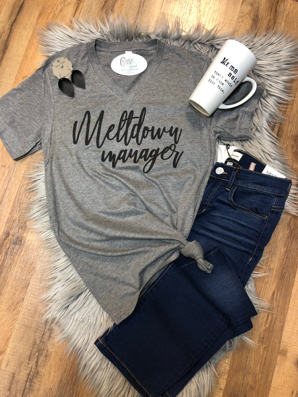 Meltdown manager tee