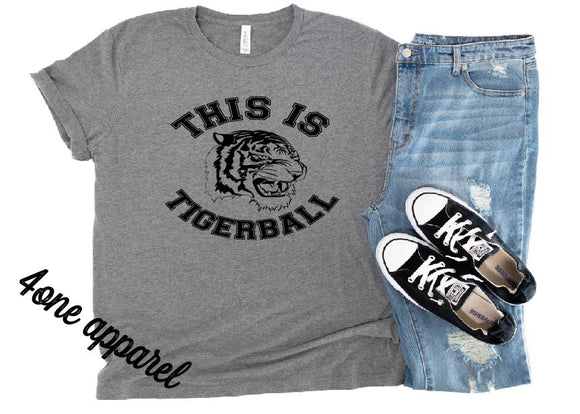 This is Tigerball Apparel YOUTH